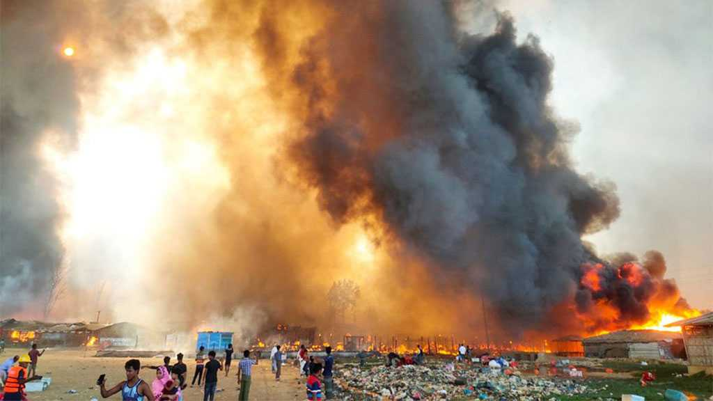 Bangladesh: Fire At Rohingya Camp Claims Several Lives