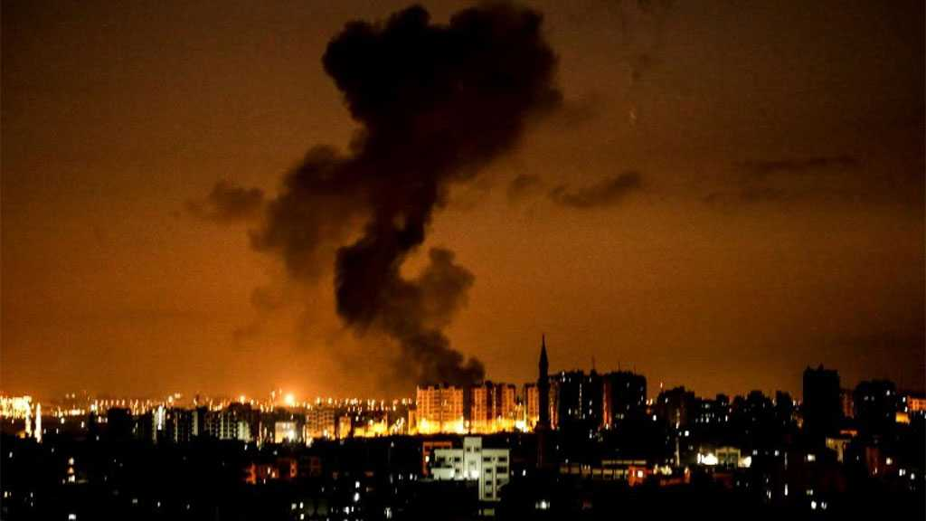 'Israeli' Warplanes Pound Gaza Strip