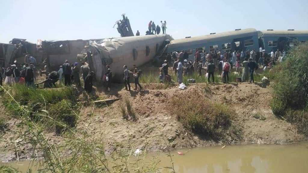 Two Trains Collide in Upper Egypt, At Least 32 Citizens Dead, More than 60 others Injured