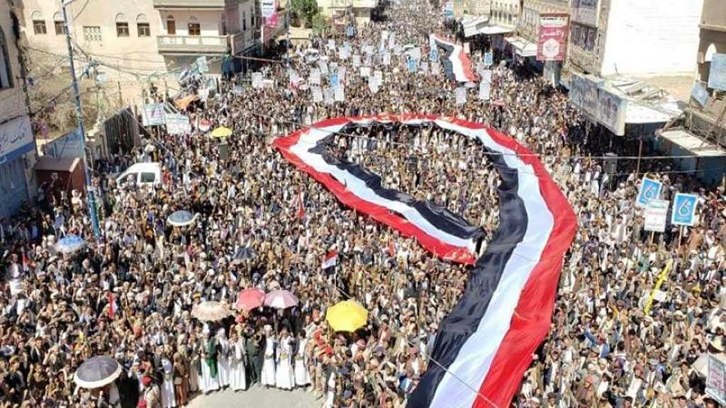 Yemenis Rally en Masse Marking National Steadfastness Day