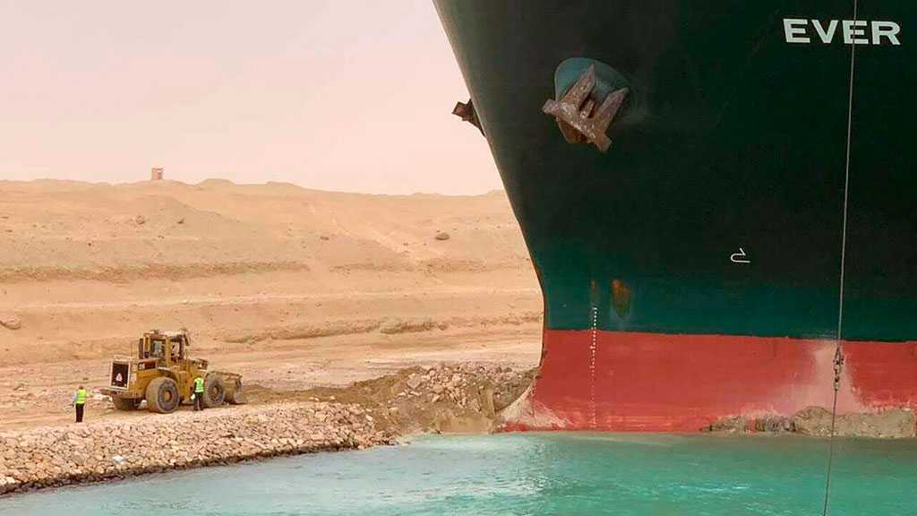 Cargo Ship Stranded in Suez Canal May Be Re-Floated on Saturday