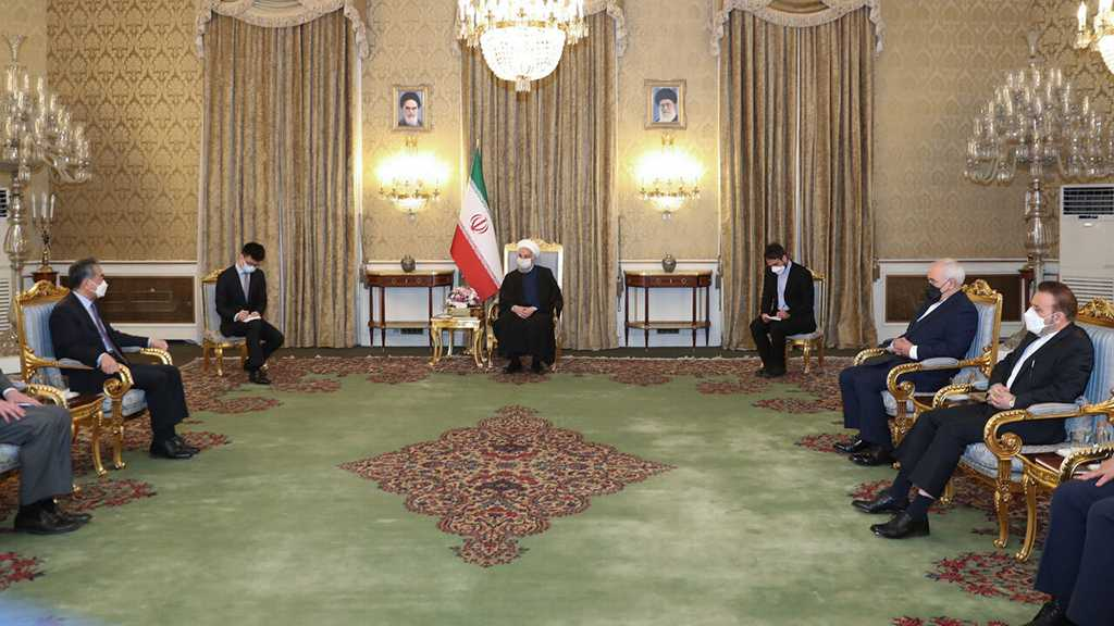 Rouhani: Iran, China Determined to Boost Long-Term Strategic Ties, Fight Terrorism