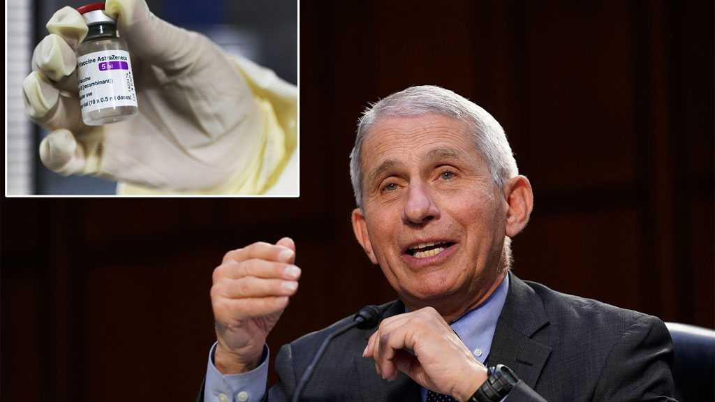 Dr. Fauci Says AstraZeneca COVID-19 Vaccine May Not Be Needed