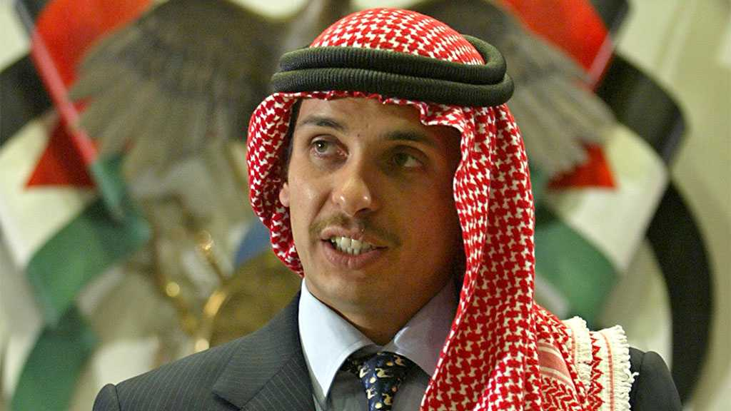 Jordan's Prince Hamzah Vows to Disobey Army 'Keep Silent' Order