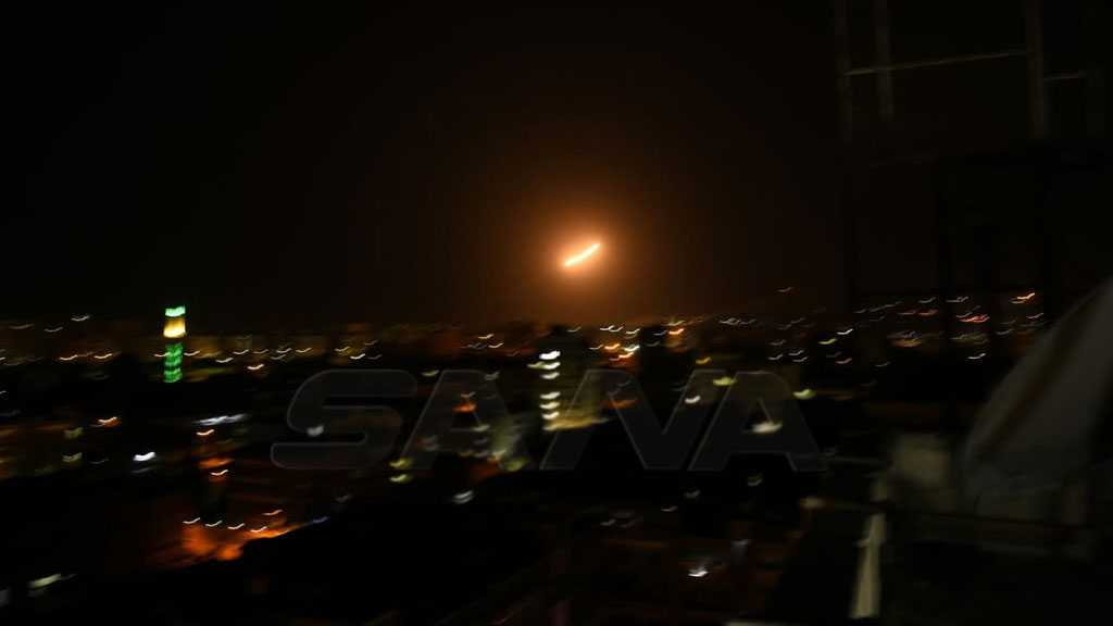 Syrian Air Defenses Intercept 'Israeli' Missiles Near Damascus