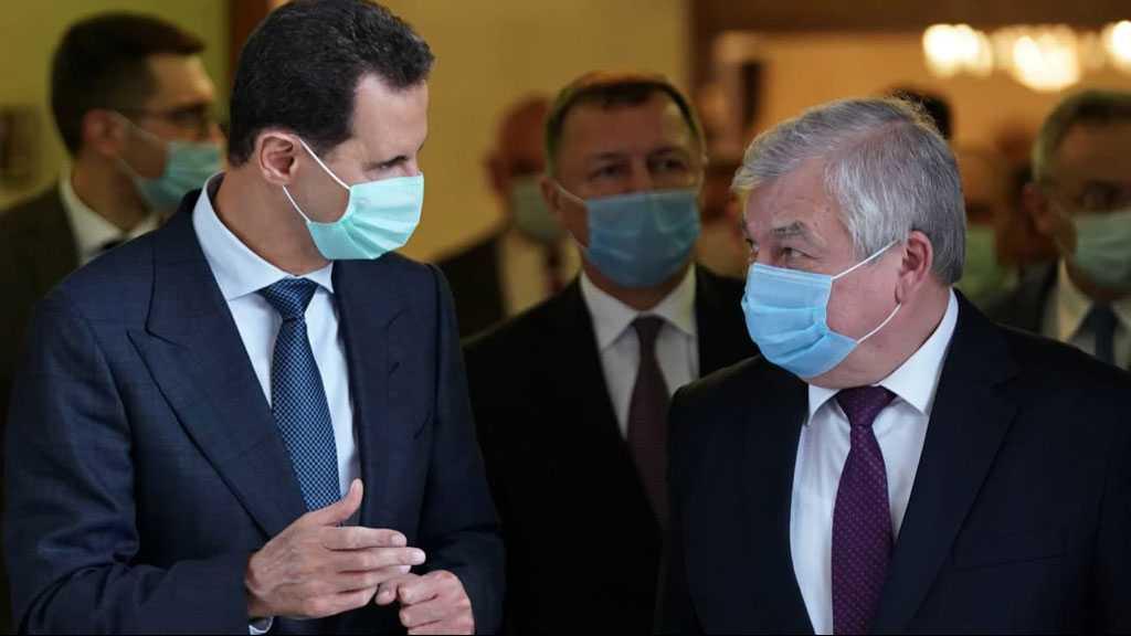 Al-Assad Receives Putin's Representative: Intensifying Work to Face Sanctions