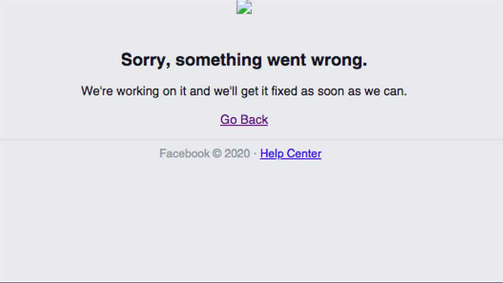 Facebook, Instagram Go Down As 'Something Went Wrong'