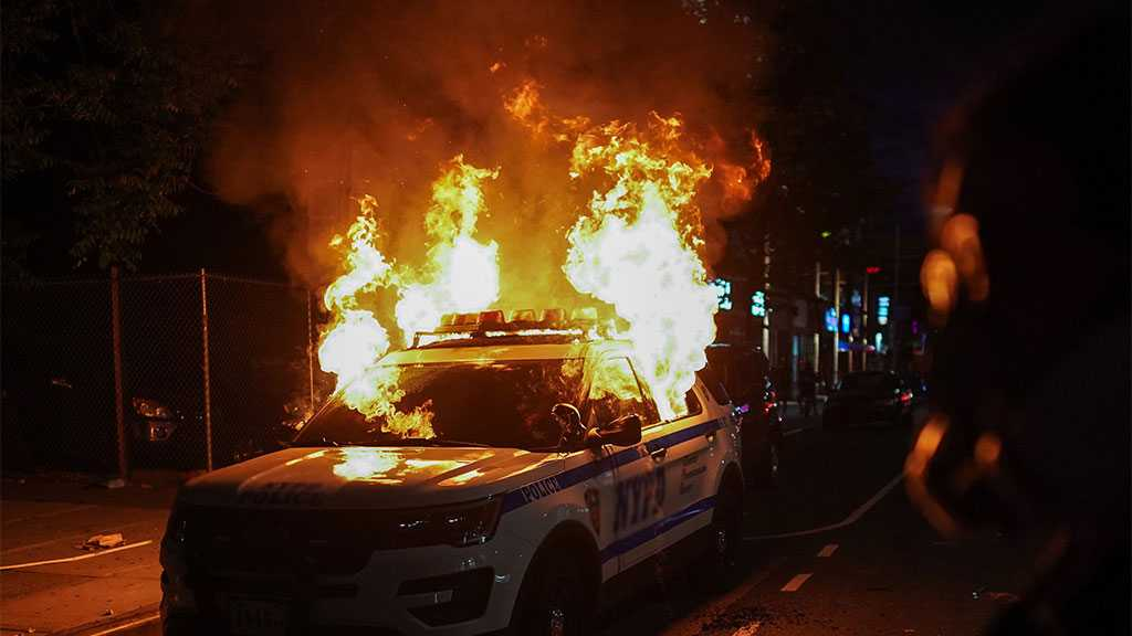 US Black Face: Looting, Clashes after Protests over Police Shooting 'Black' Man in Brooklyn