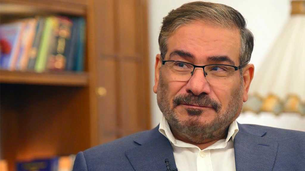 Shamkhani: US Withdrawal from Iraq Serves Region's Stability