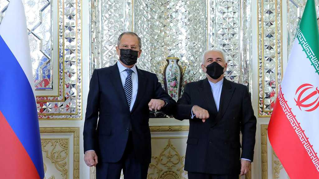 Zarif Meets Lavrov in Tehran, Warns 'Israel' of Strong Response If Role in Natanz Attack Proved