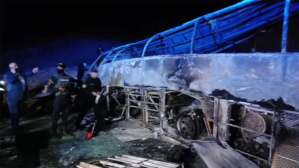 At Least 20 Killed after Bus Crashes, Catches Fire While Overtaking Truck in Egypt's Assiut