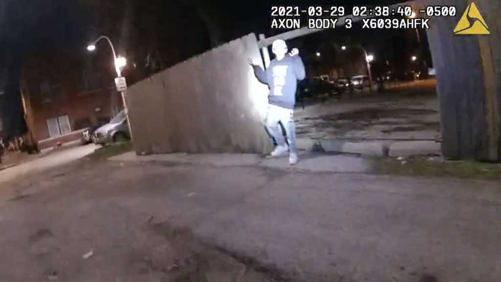 Video Shows Chicago Police Shooting Adam Toledo, 13, As He Raised His Hands