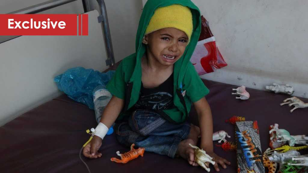 The Children of Yemen Face the Aggression's Leukemia