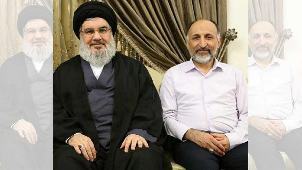 Sayyed Nasrallah Condoles Imam Khamenei on Brigadier General Hejazi's Demise