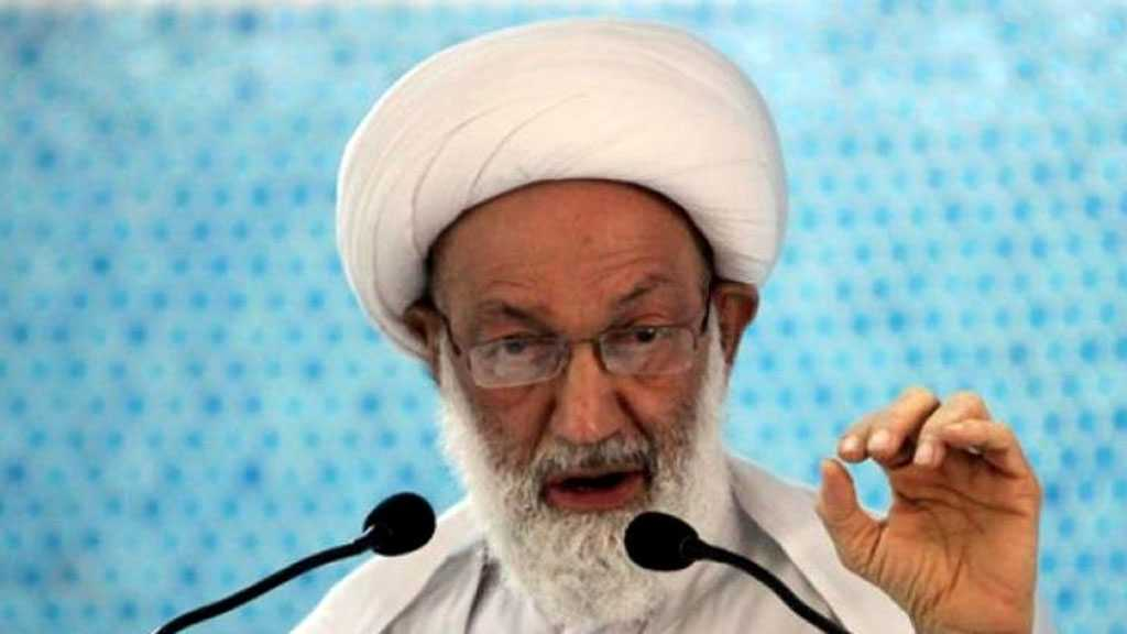 Sheikh Isa Qassim: New Constitution Sole Way out of Bahrain Crisis