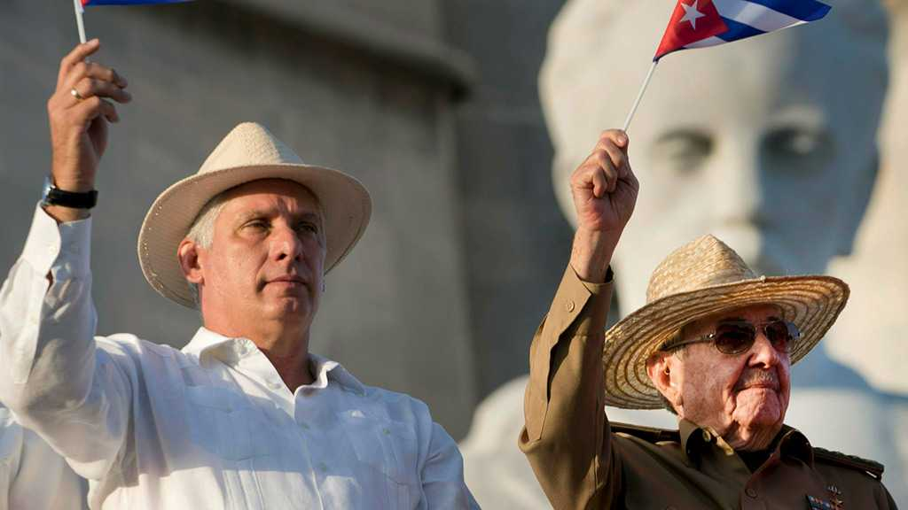 Diaz-Canel Becomes Cuba's Communist Party Chief, Says Will Continue to Seek Castro's Guidance