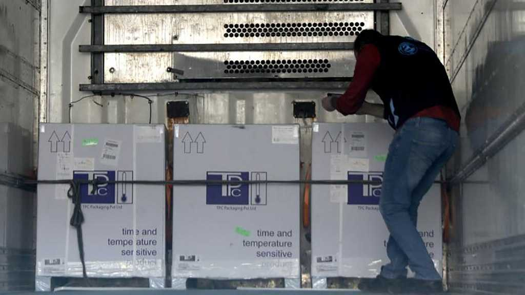 Syria Receives Batch of UN Vaccines to Speed Up Virus Fight