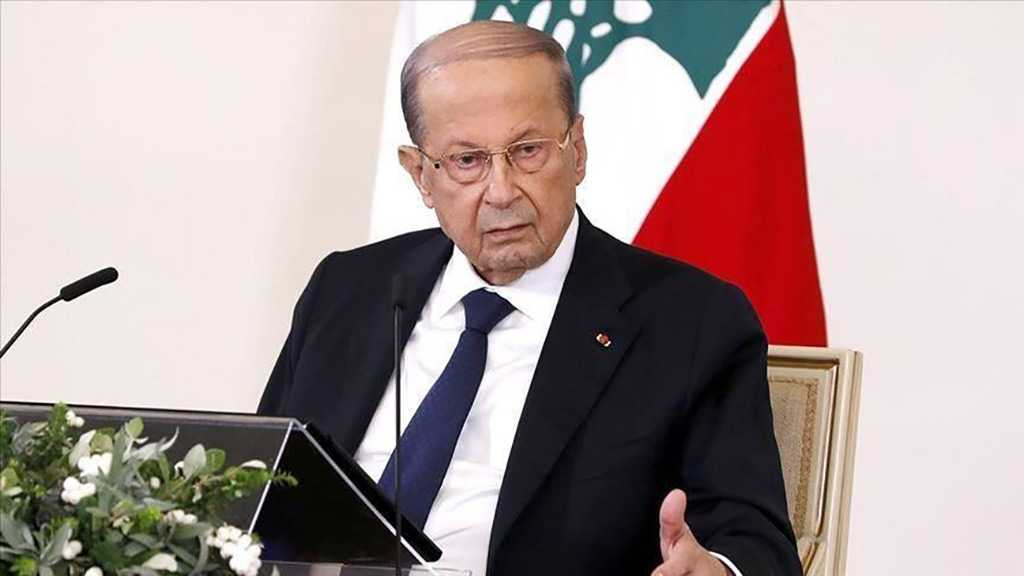 "Aoun Calls on Lebanese to Be ""Patient"" As Country Collapses"
