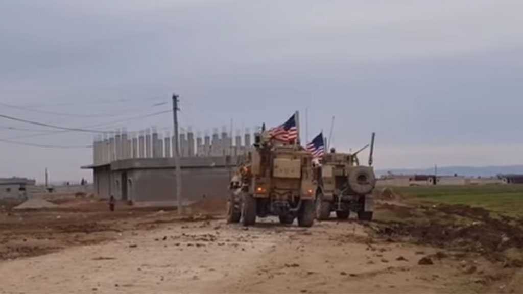 US Occupation Brings In 38 Vehicles Loaded with Military Equipment to Its Bases in Syria's Qamishli