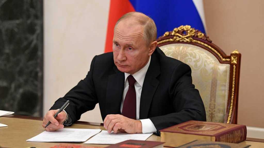 Putin Signs Decree on Countermeasures against 'Unfriendly' Countries