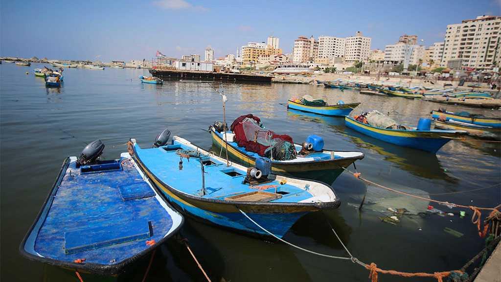 'Israel' Closes Fishing Zone off Blockaded Gaza