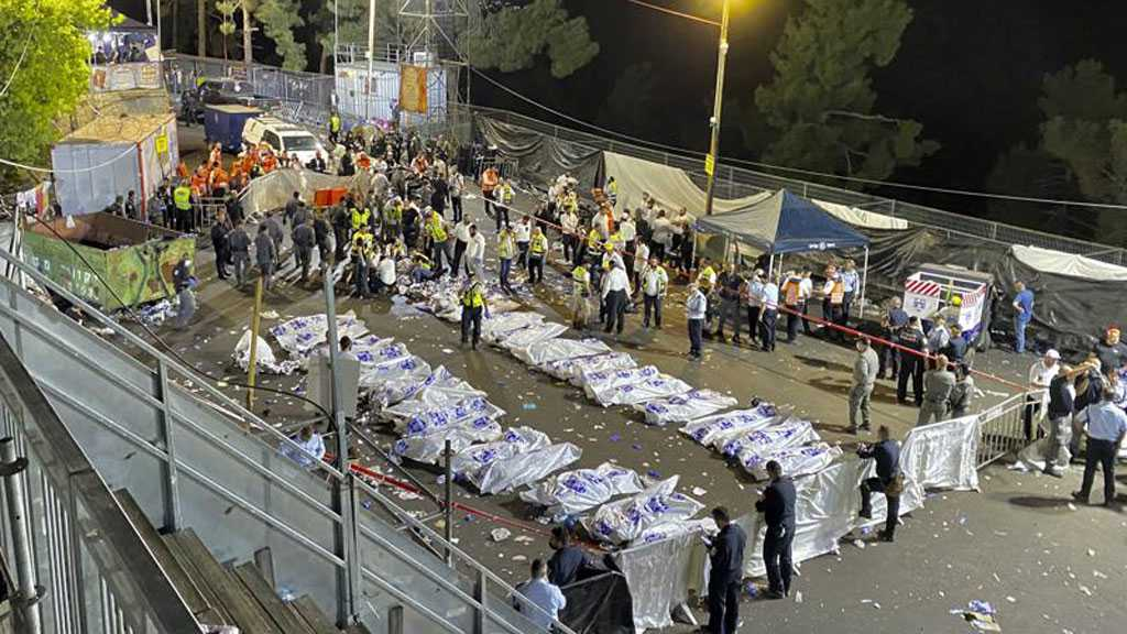 Scores Of 'Israelis' Killed, Many Others Injured in Stampede in The Occupied Territories