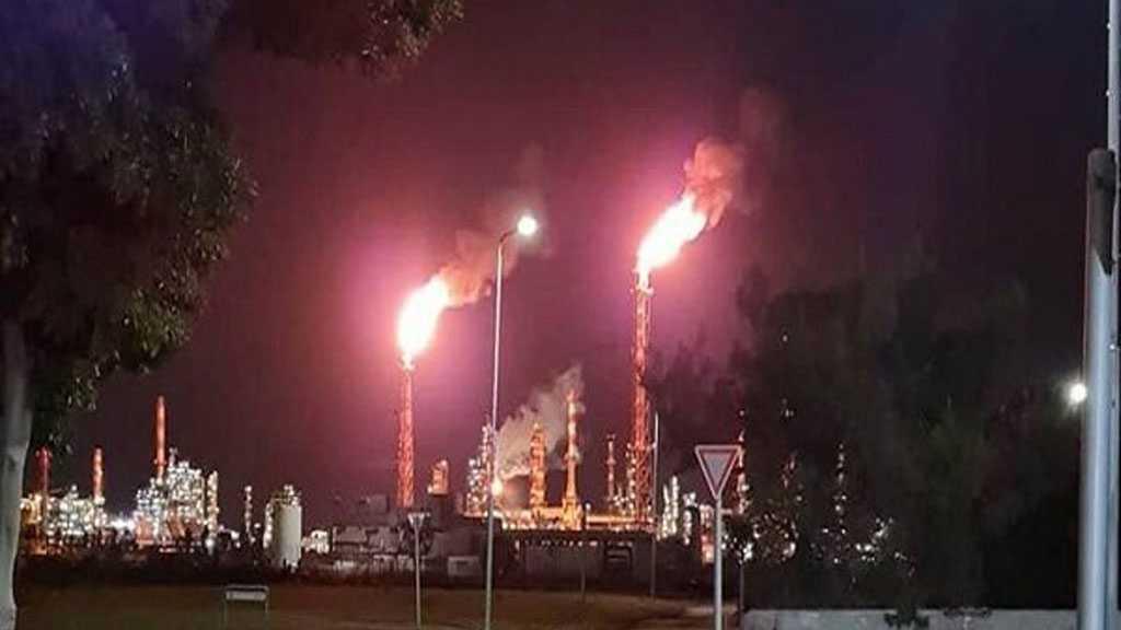 Fire Breaks Out at 'Israeli'-occupied Haifa Oil Refinery