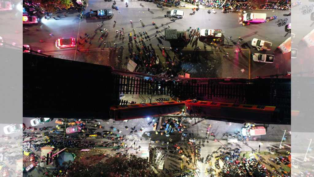 At Least 15 Killed, Scores Injured as Metro Train Bridge Collapses in Mexico City