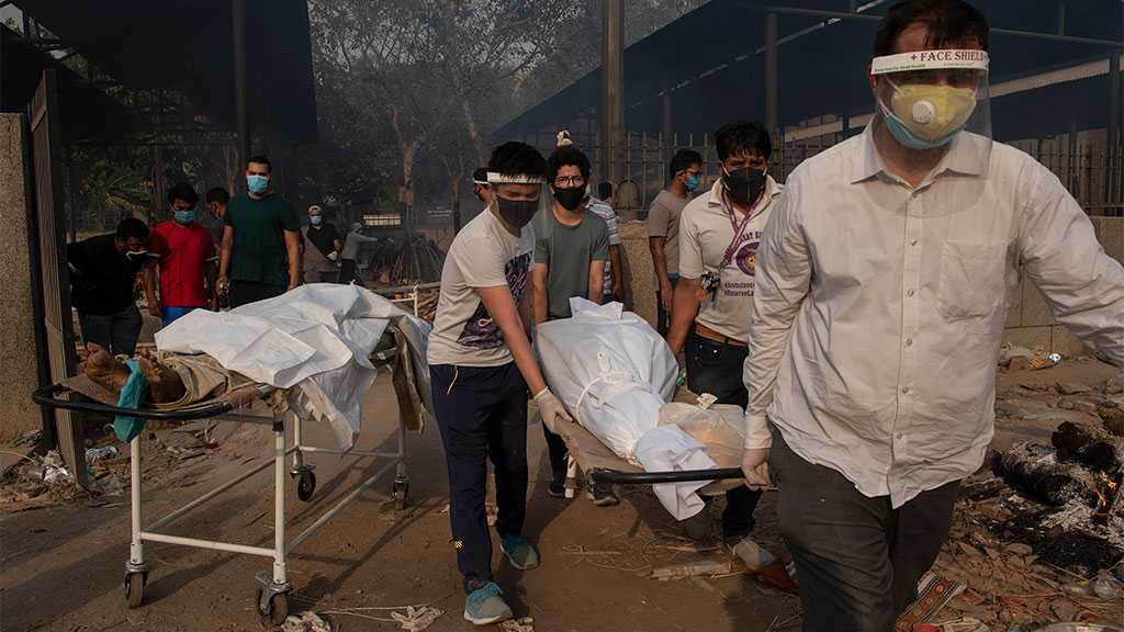 India Reports Record Daily Uptick in Covid-19 Fatalities