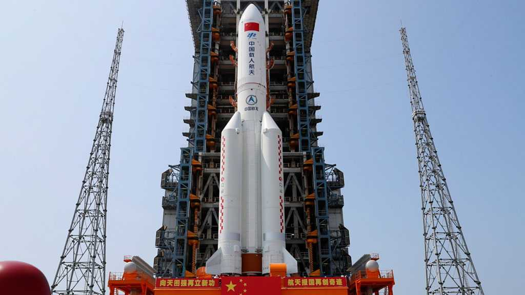 Pentagon Tracking Chinese Rocket Debris Making 'Uncontrolled Reentry' From Orbit after Space Station Launch