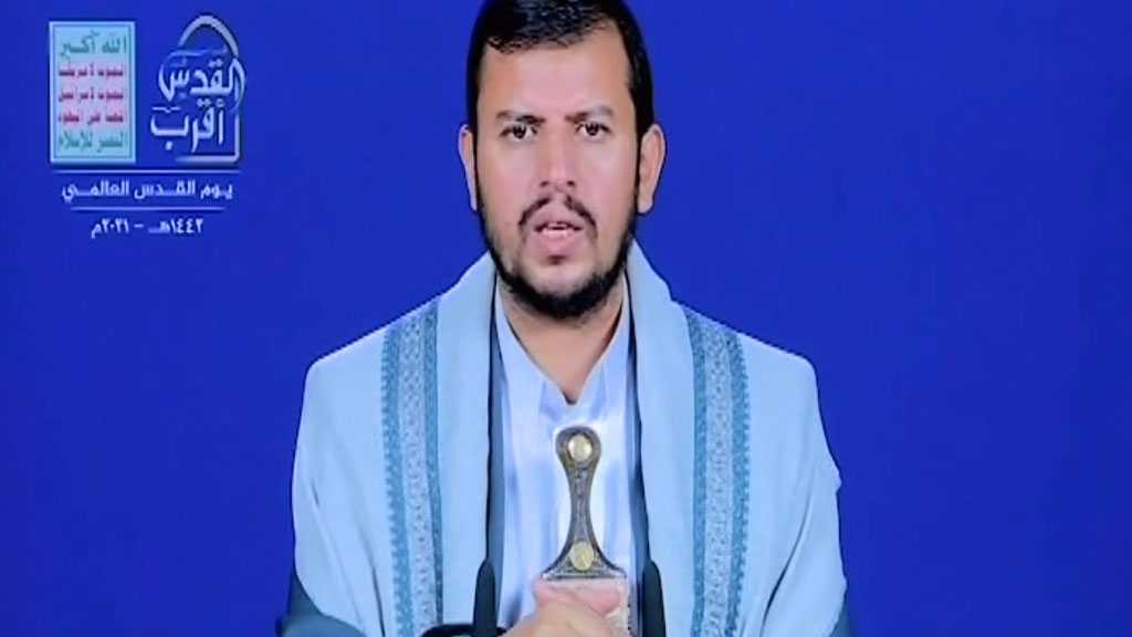 Ansarullah Leader Reiterates Yemenis' Unswerving Support of Palestine in Int'l Quds Day Speech