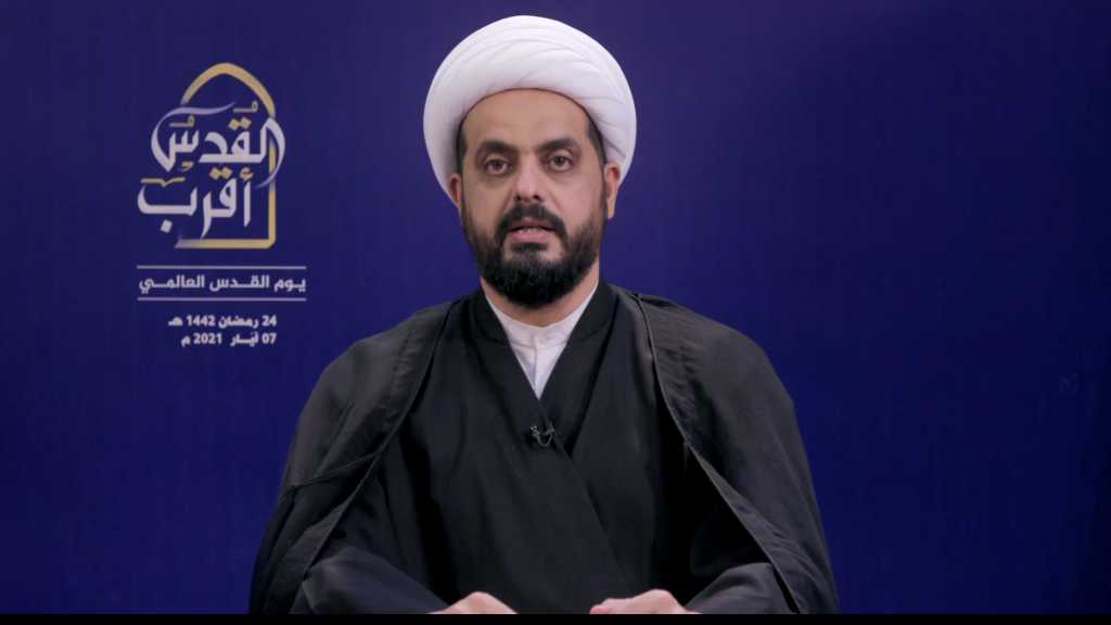 Asaib Ahl Al-Haq Leader: Liberating Iraq From US Occupation A Step towards Liberating Al-Quds From the Zionists