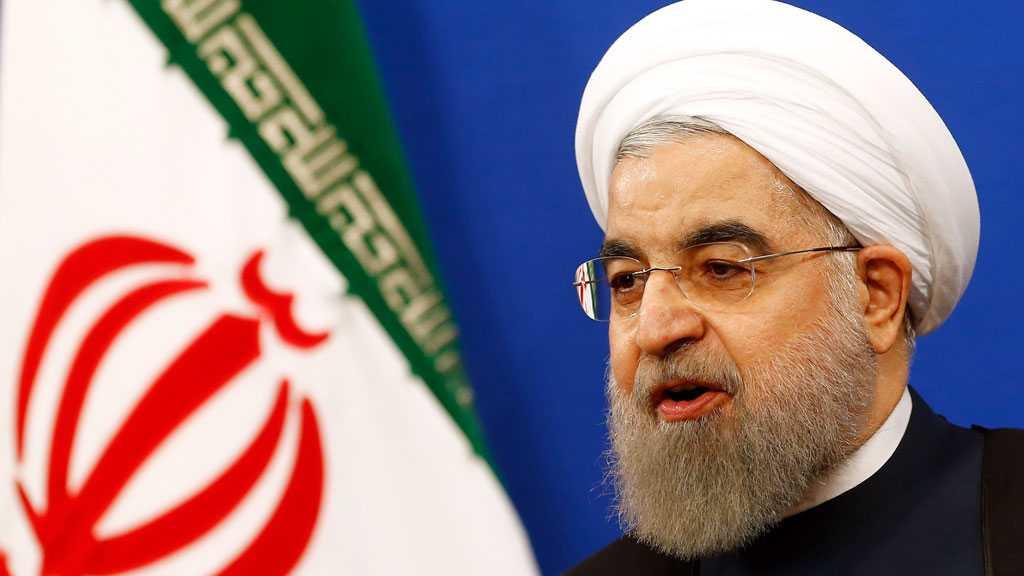 Rouhani Slams Disregard for Palestinians' Displacement