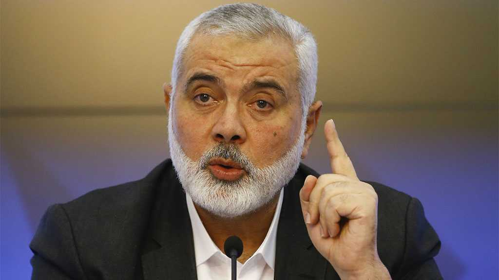 Ismail Haniyah: Resistance Is Prepared, Won't Remain Hand-folded In Front of the Occupation's Plots
