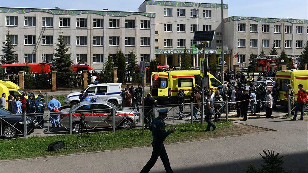 Eleven Killed, Over a Dozen Hospitalized after School Shooting in Russia's Kazan