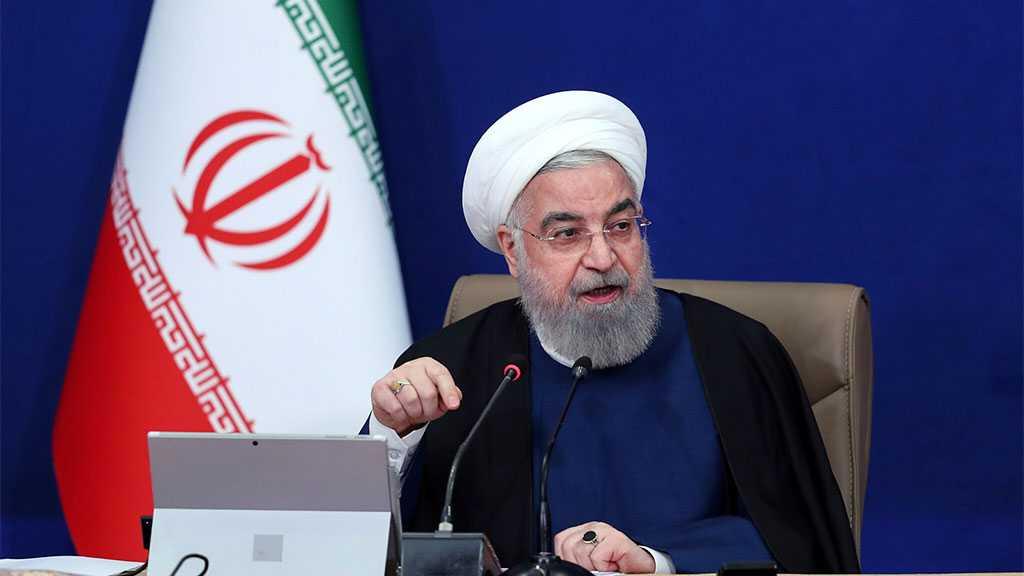 "Rouhani Slams Muslim States' Muted Response to ""Israeli"" Crimes"
