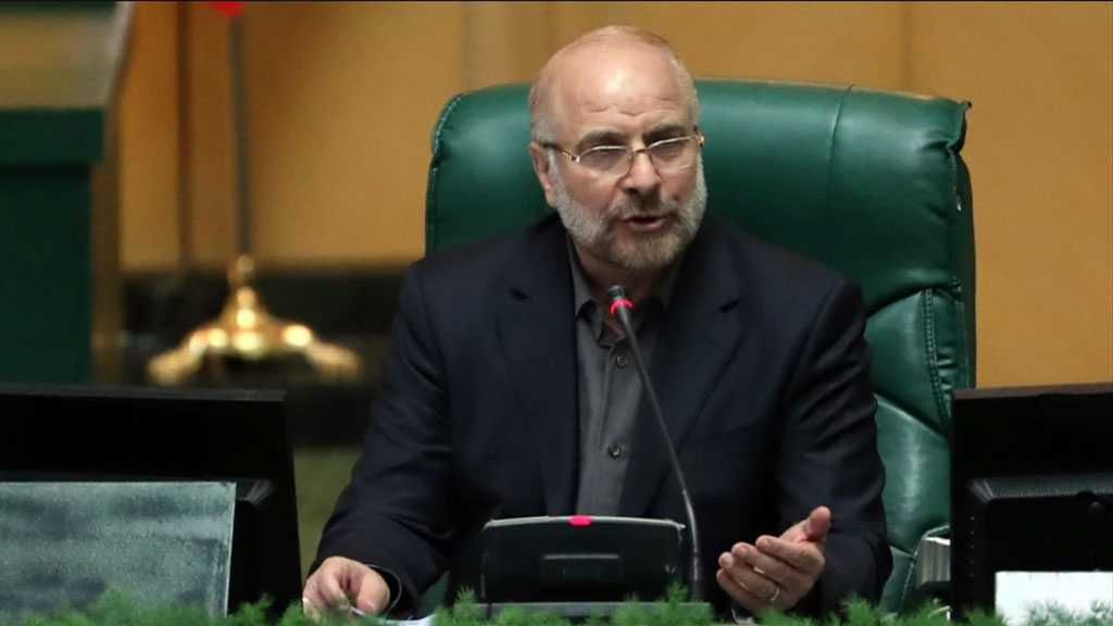 Iranian Parliament Speaker Urges Serious Action by Islamic Parliaments against Zionist Crimes