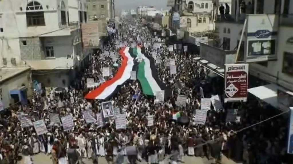 Yemenis Hold Massive Rallies in Solidarity with Palestine
