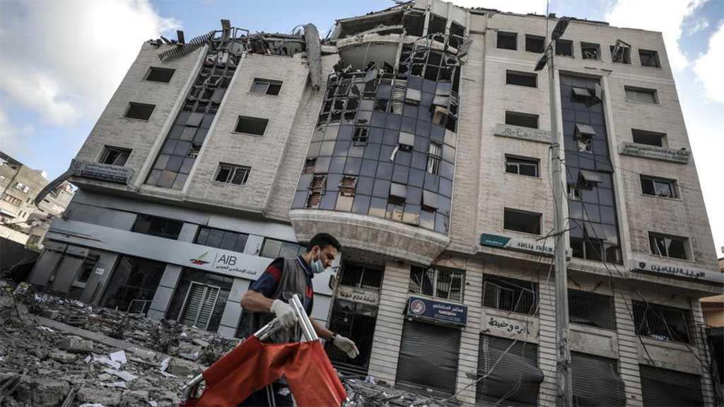 """Israel's"" Unlimited Barbarism: Gaza's Main Lab Damaged in Zionist Strikes"