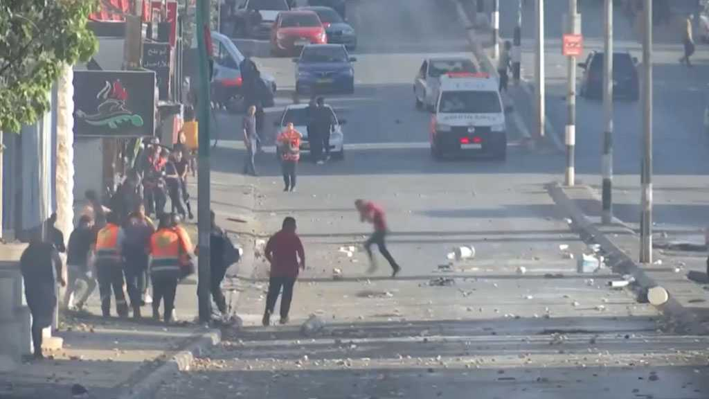 'Israeli' Occupation Forces Shoot Palestinian Protesters in West Bank: Three Martyred, Dozens Injured