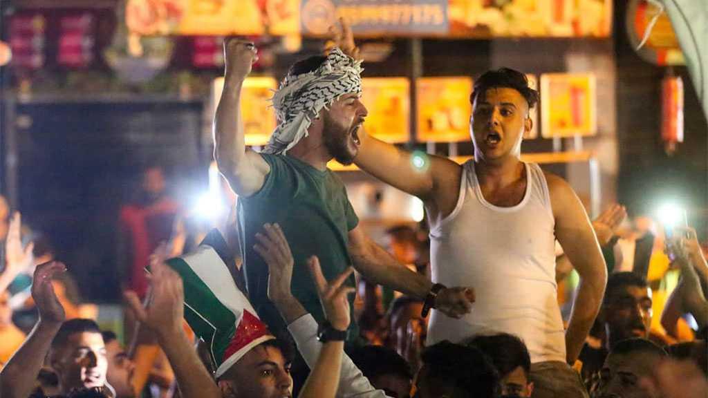 Palestinians Celebrate Victory, 'Israelis' Mourn Defeat