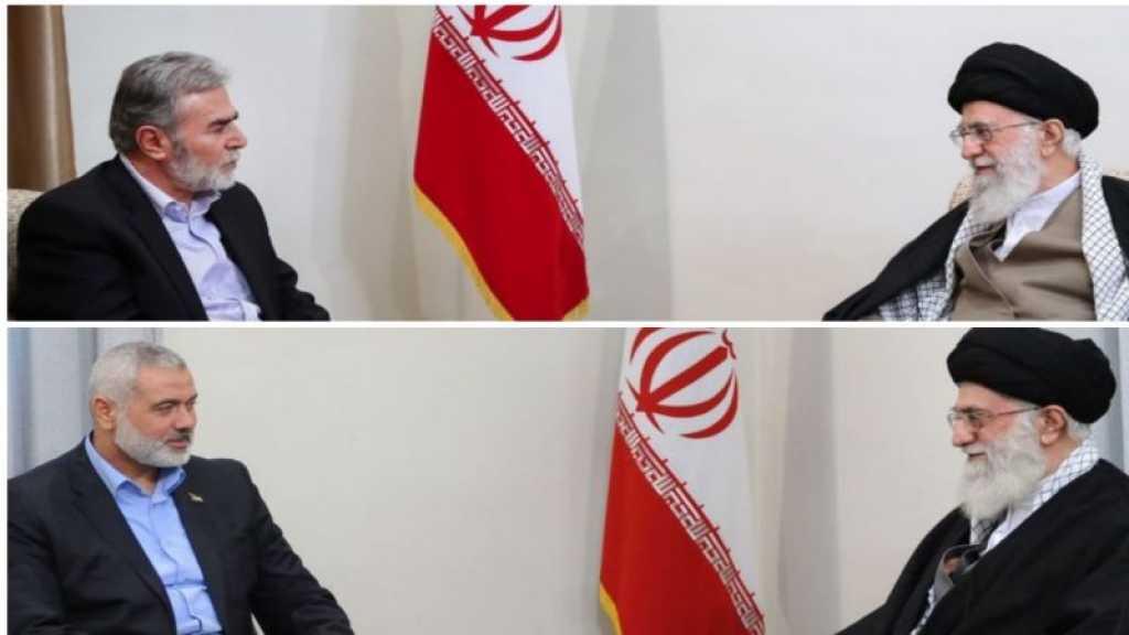Imam Khamenei to Hamas and Islamic Jihad Leaders: You'll Be Victorious