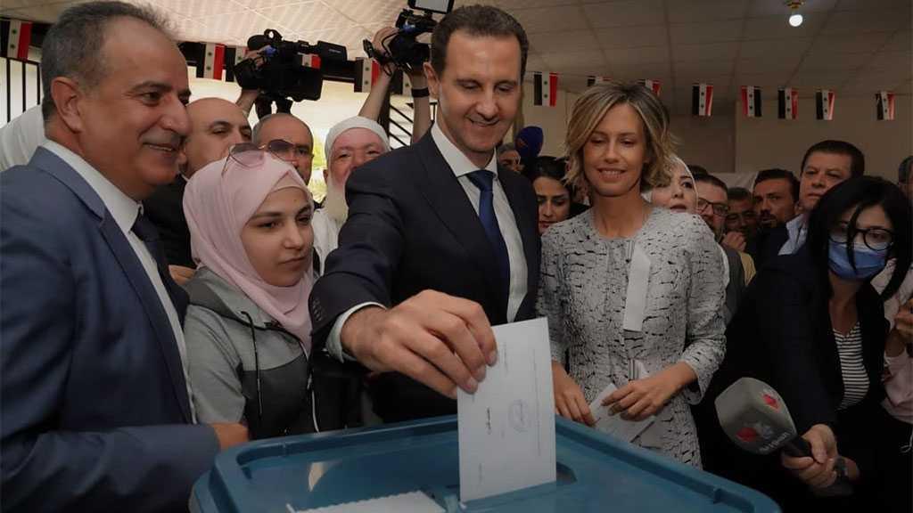 Assad: Election Entitlement, Popular Response Assert Syrian Citizens' Freedom