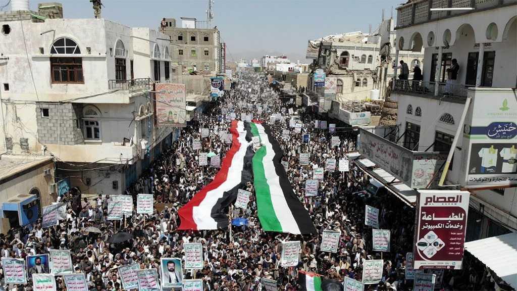 Yemenis Hold Massive Rallies in Saada to Slam US, 'Israeli' Crimes against Muslims