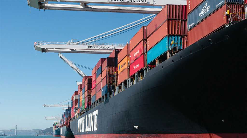 Up To 1,000 People Protest Unloading Of 'Israeli' Ship in Oakland