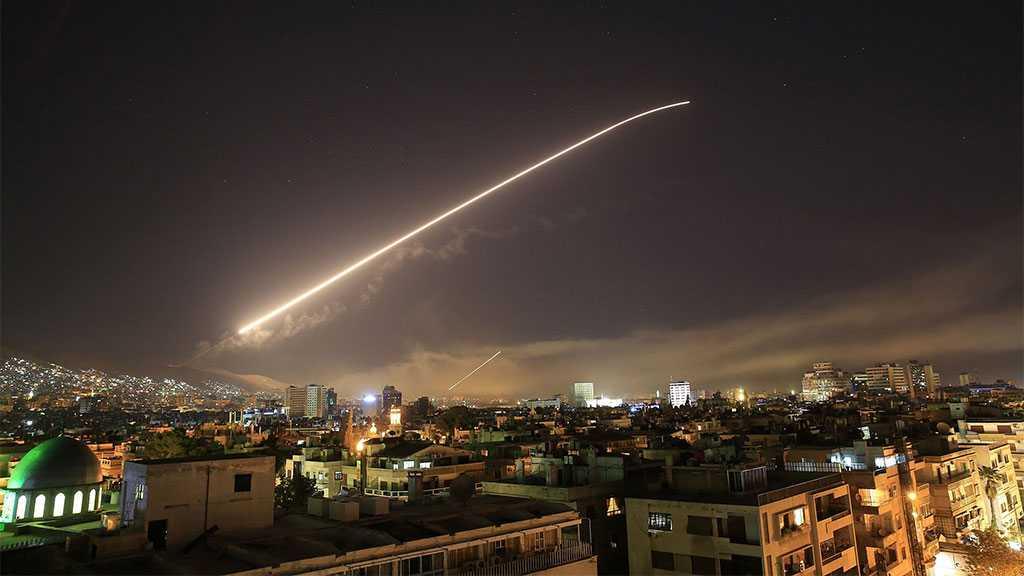 Syria's Air Defenses Intercept 'Israeli' Missiles over Damascus