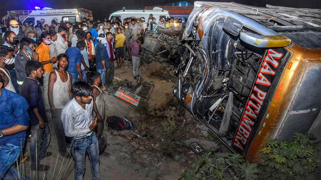At Least 17 Killed After Bus Carrying Migrant Workers Hits Van in Northern India