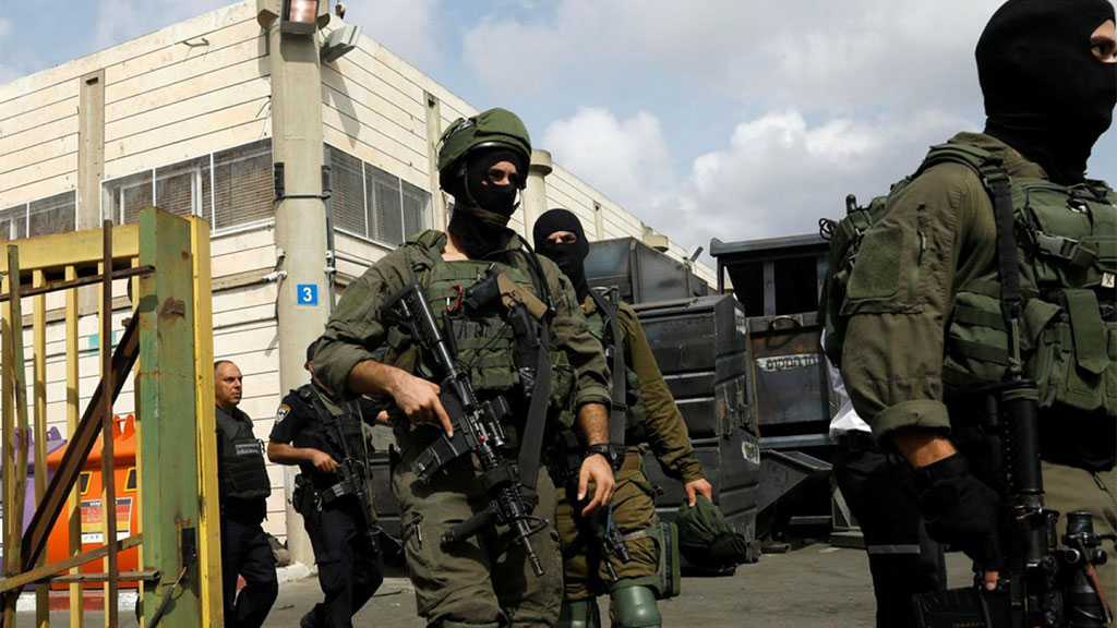 'Israeli' Occupation Forces Detain Dozens of Palestinians, Injure Three Others in the West Bank