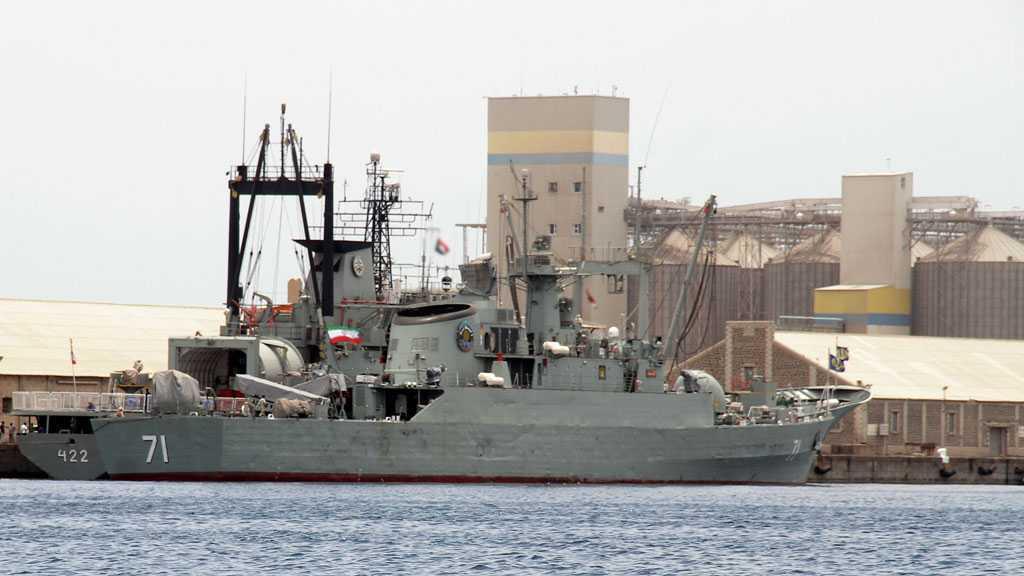 "Iran's Navy Puts ""Dena"" Destroyer, ""Shahin"" Minehunter into Service"