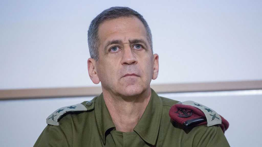 'Israeli' Military Chief of Staff to Meet with Top US Officials in First Such Trip of New Gov't Era